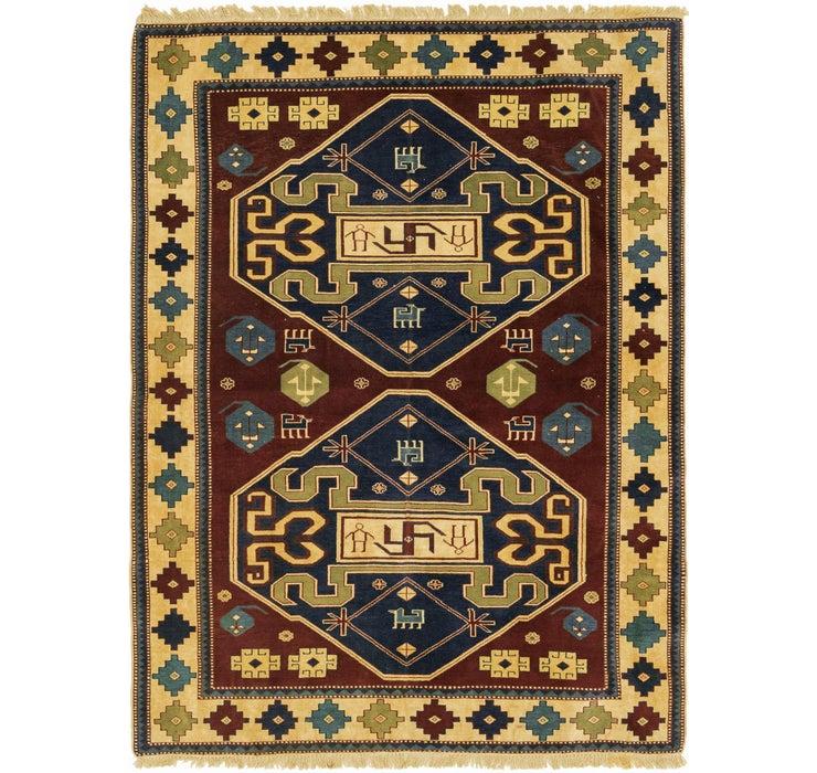157cm x 208cm Shirvan Persian Rug
