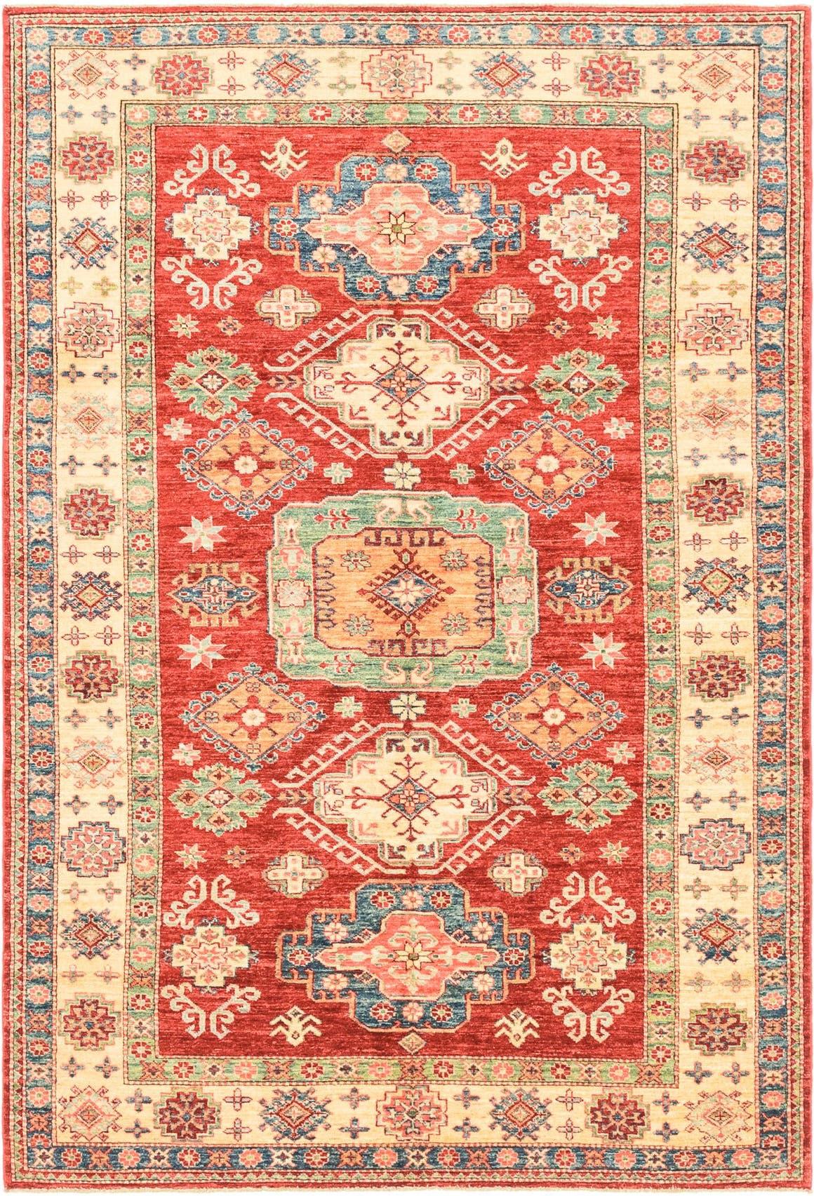 5' 4 x 8' Kazak Oriental Rug main image