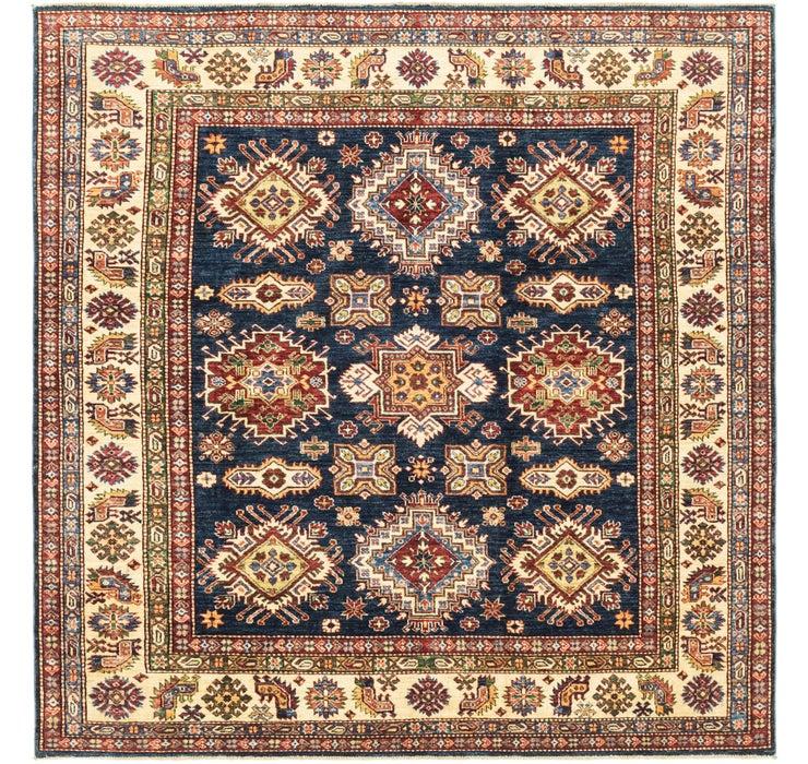 210cm x 210cm Kazak Oriental Square Rug