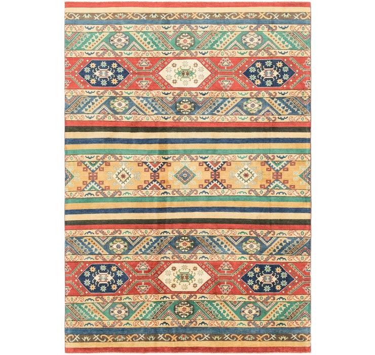6' 8 x 9' 10 Kazak Rug