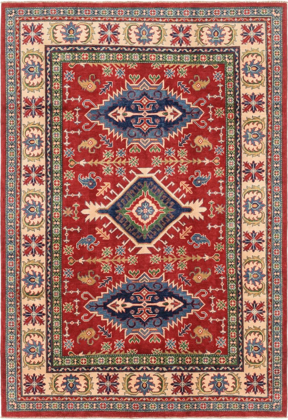 6' 3 x 9' 1 Kazak Rug main image