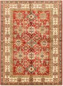 173cm x 235cm Kazak Oriental Rug thumbnail