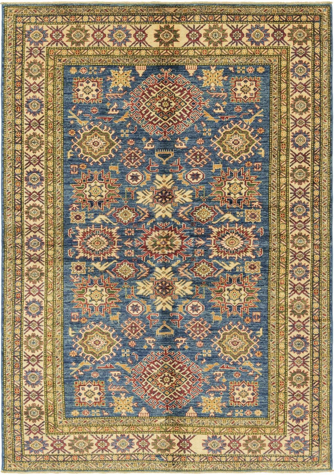 5' 6 x 8' Kazak Oriental Rug main image