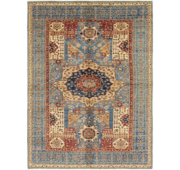 5' 9 x 8' Kazak Oriental Rug