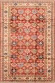 6' 7 x 9' 10 Kazak Oriental Rug thumbnail