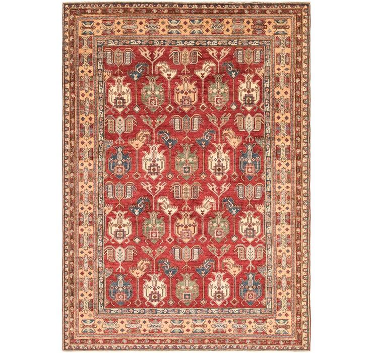7' x 9' 10 Kazak Oriental Rug