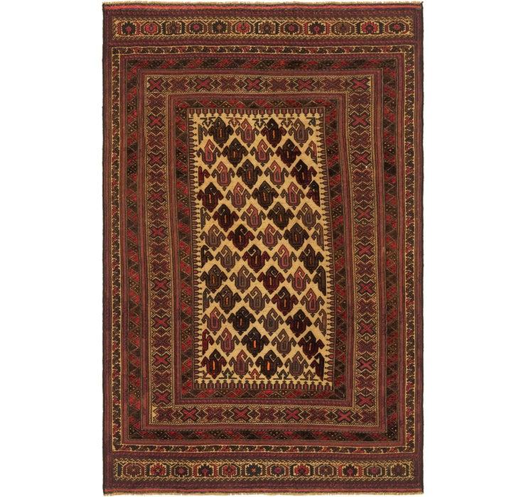 173cm x 275cm Sumak Oriental Rug