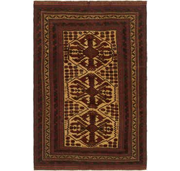Image of 6' 4 x 9' 3 Sumak Oriental Rug