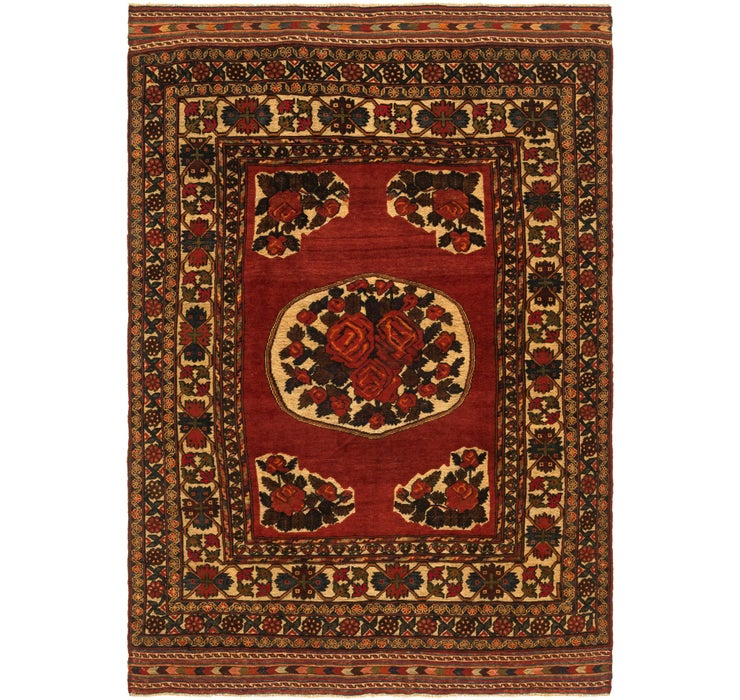 6' 2 x 9' 1 Sumak Oriental Rug