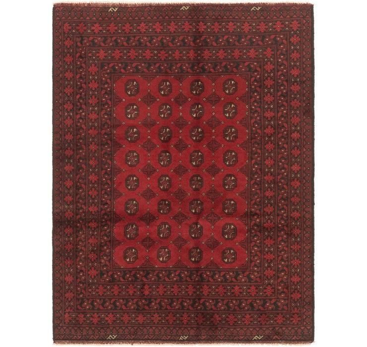 150cm x 193cm Afghan Akhche Rug