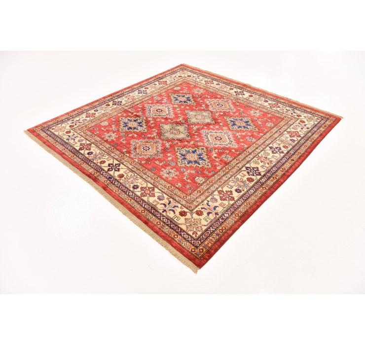 6' 2 x 6' 3 Kazak Oriental Square Rug