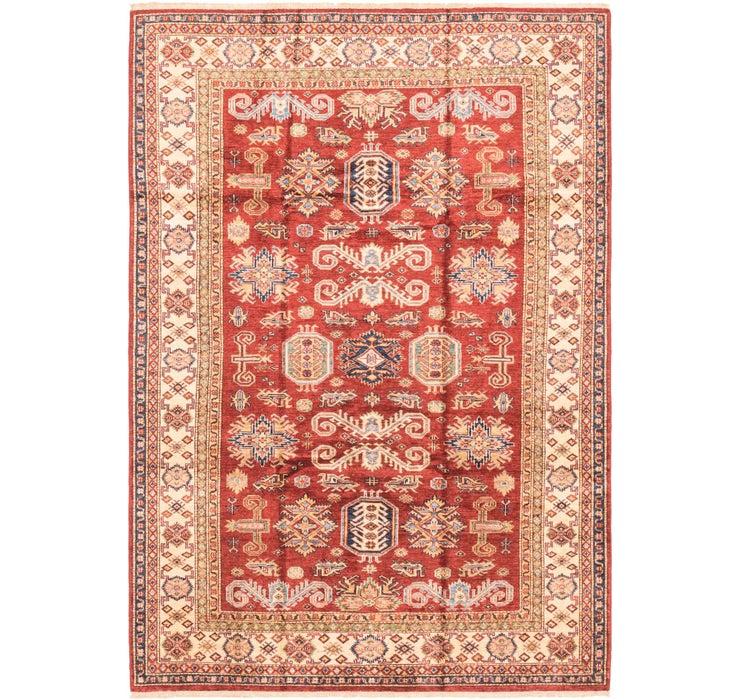 Image of 168cm x 240cm Kazak Oriental Rug