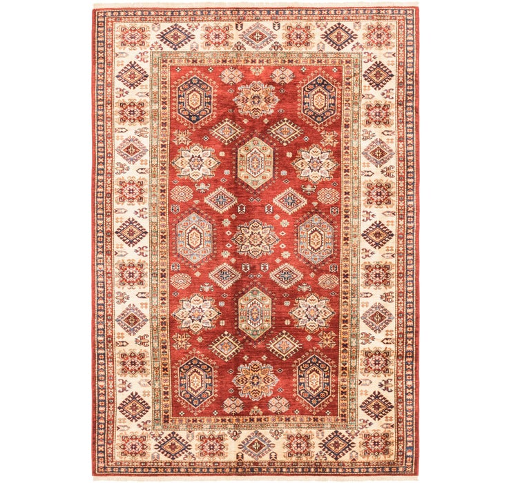 5' 7 x 8' Kazak Oriental Rug