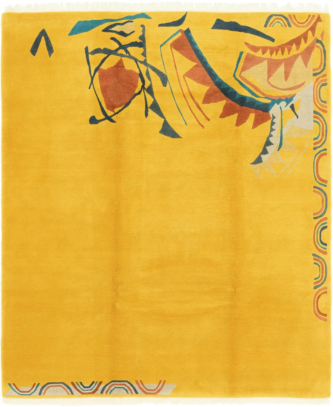 7' 6 x 8' 8 Nepal Square Rug main image