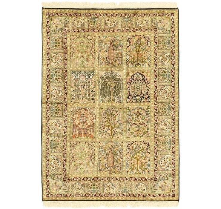 130cm x 185cm Kashmir Oriental Rug