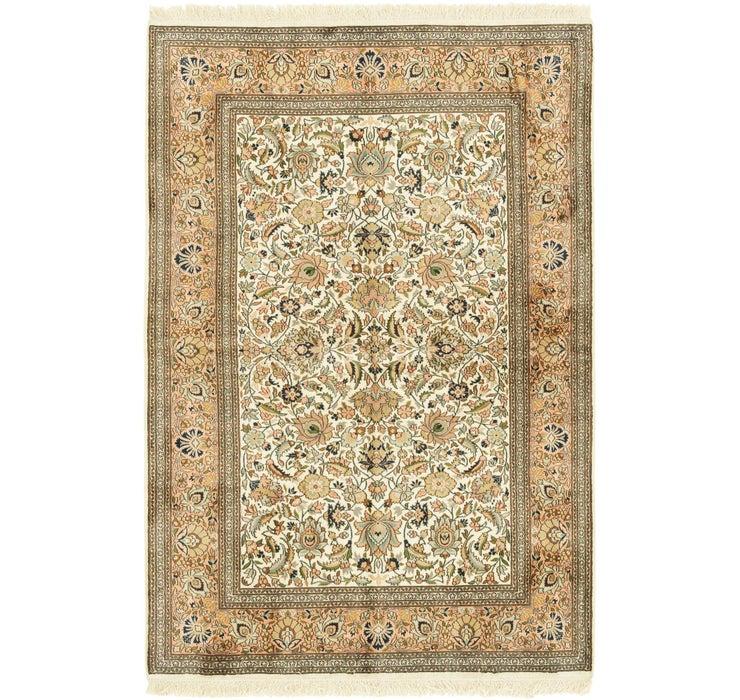 4' 1 x 6' 1 Kashmir Oriental Rug