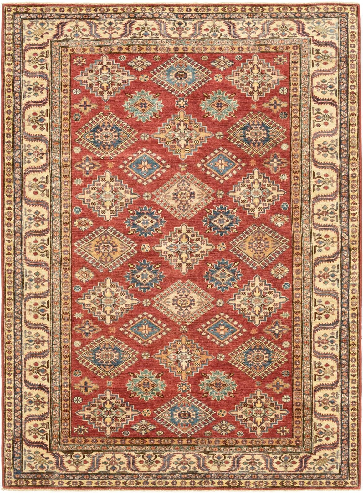5' 10 x 8' 1 Kazak Oriental Rug main image