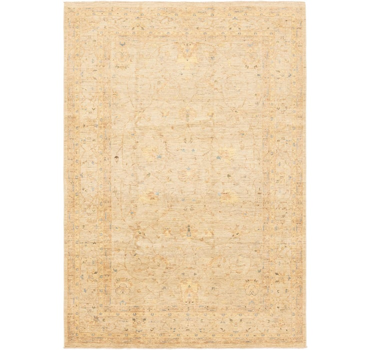 6' 8 x 9' 8 Over-Dyed Ziegler Rug