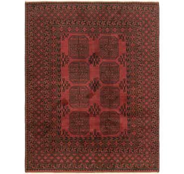 Image of 5' x 6' 3 Afghan Akhche Rug