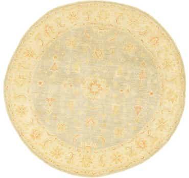 Image of 200cm x 203cm Peshawar Ziegler Round ...