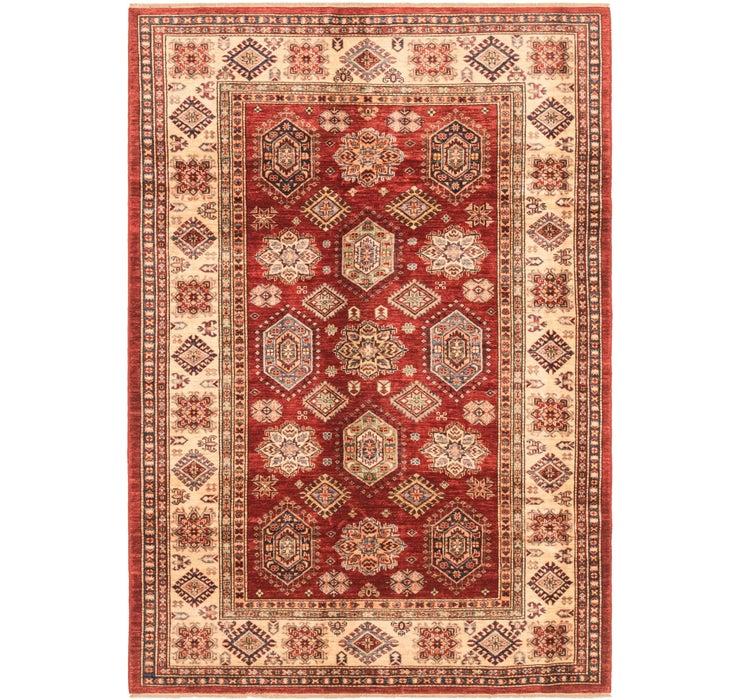 5' 9 x 8' 2 Kazak Oriental Rug
