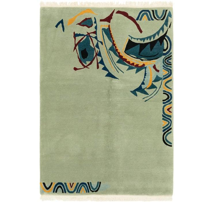 4' 7 x 6' 8 Nepal Rug