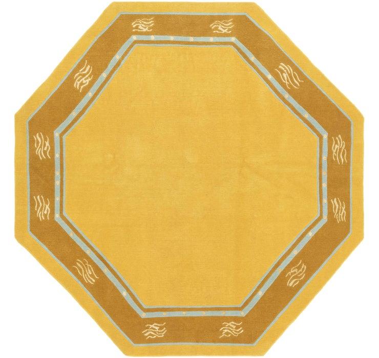 7' 7 x 7' 8 Nepal Octagon Rug