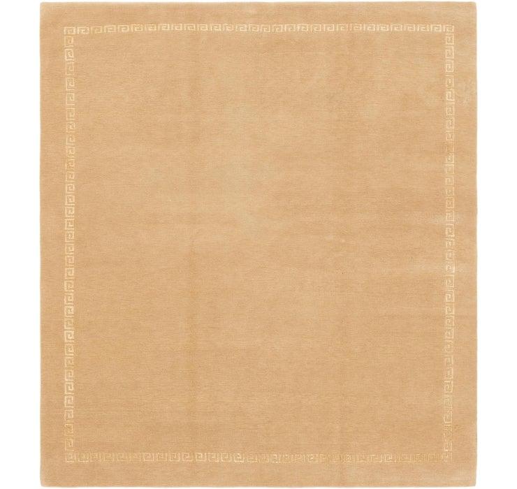 7' 9 x 8' 4 Nepal Square Rug