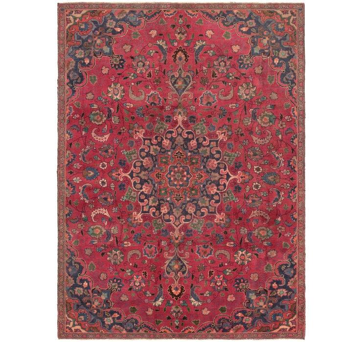 7' x 9' 8 Mashad Persian Rug