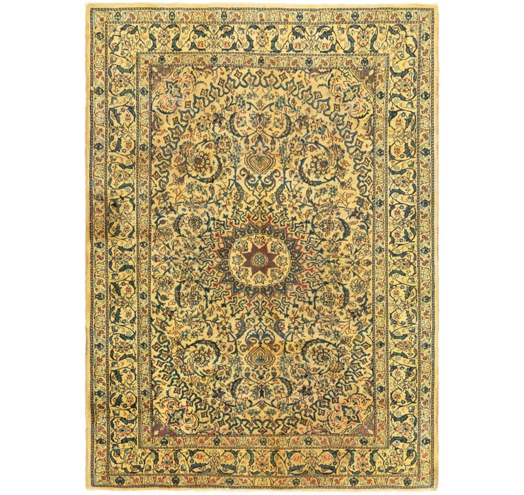 6' 7 x 9' 4 Kashmar Persian Rug