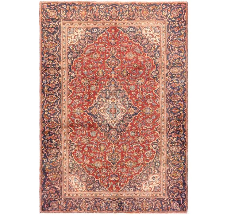 6' 3 x 9' 2 Mashad Persian Rug