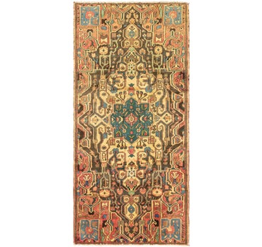4' x 8' 9 Bakhtiar Persian Runner Rug main image