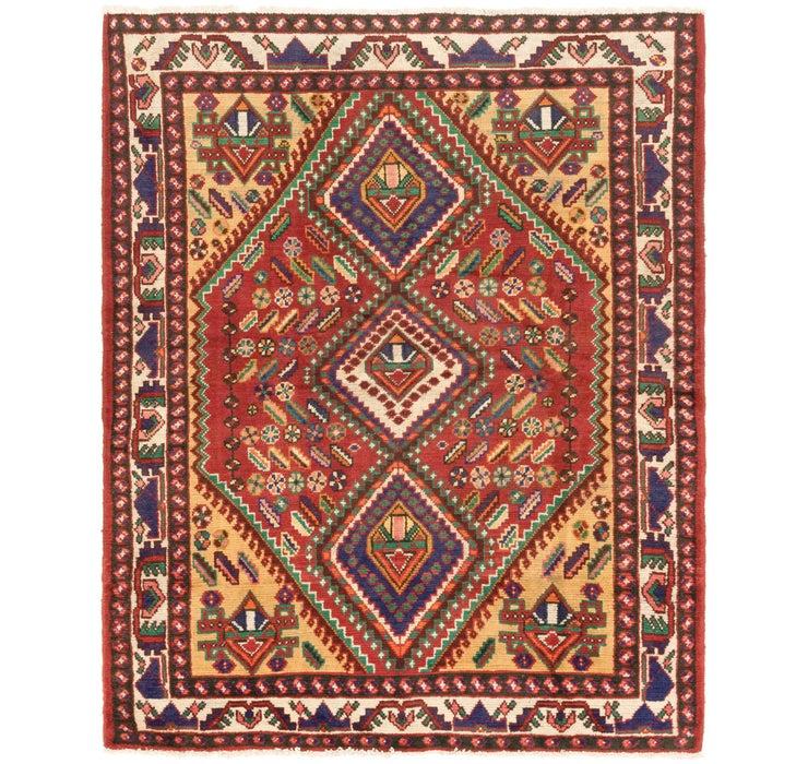 5' x 6' 6 Hamedan Persian Rug