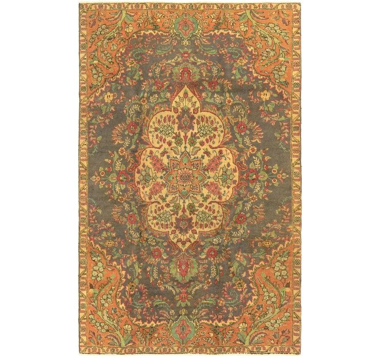 5' 2 x 8' 4 Tabriz Persian Rug