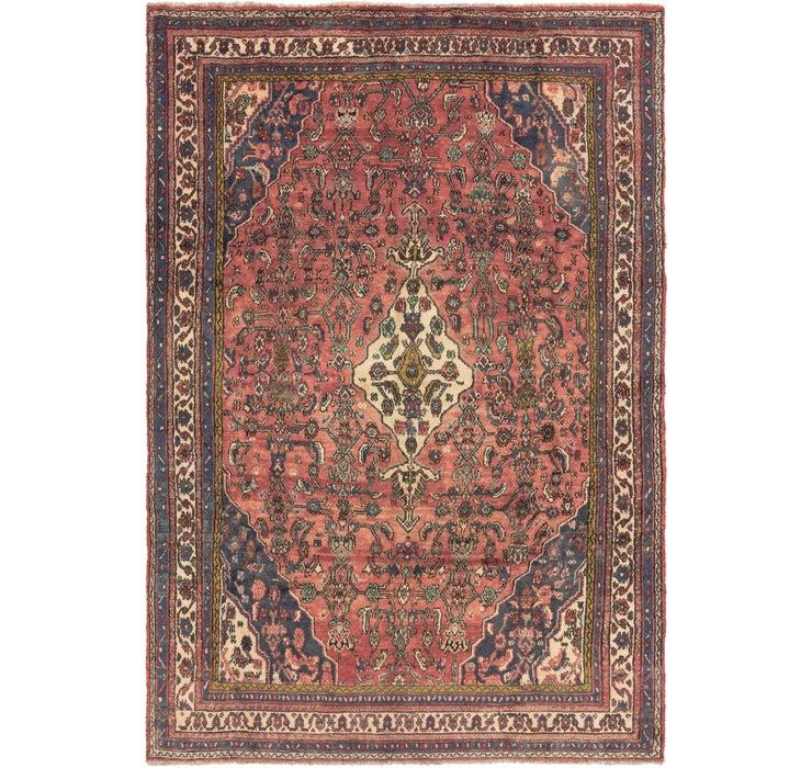 6' 6 x 9' 5 Hamedan Persian Rug