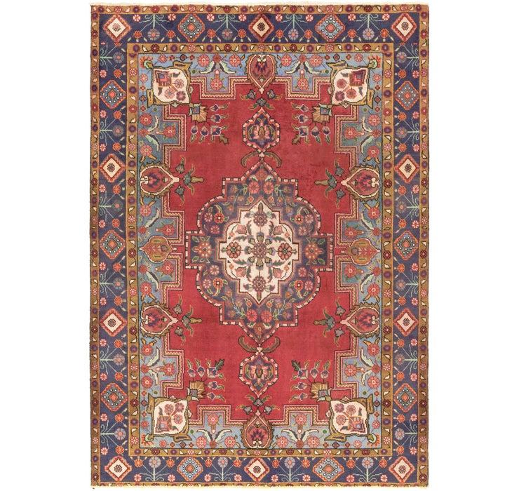 6' 4 x 9' 3 Tabriz Persian Rug