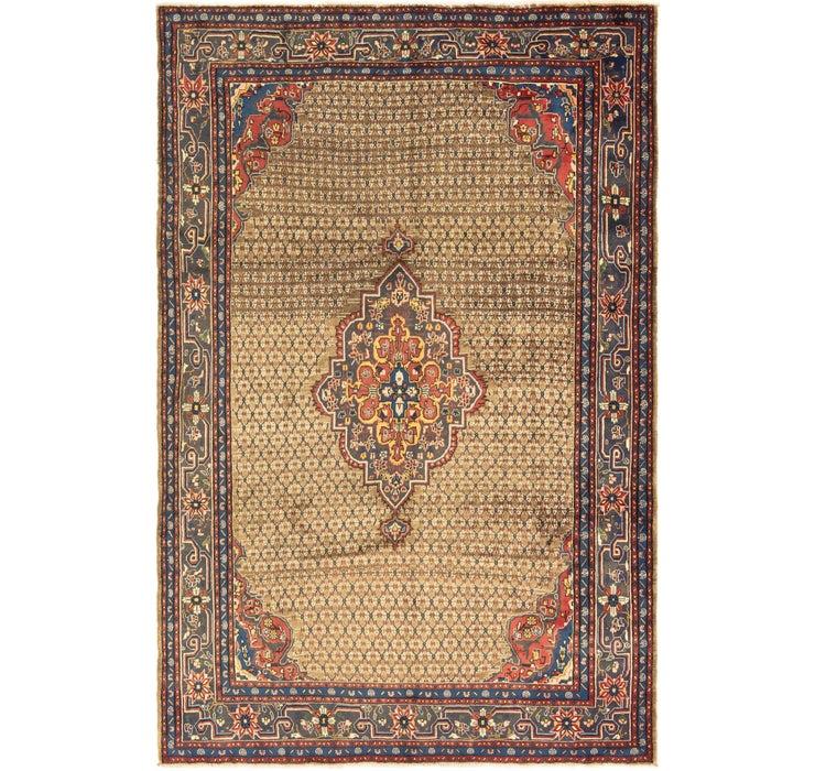 6' 5 x 10' Songhor Persian Rug