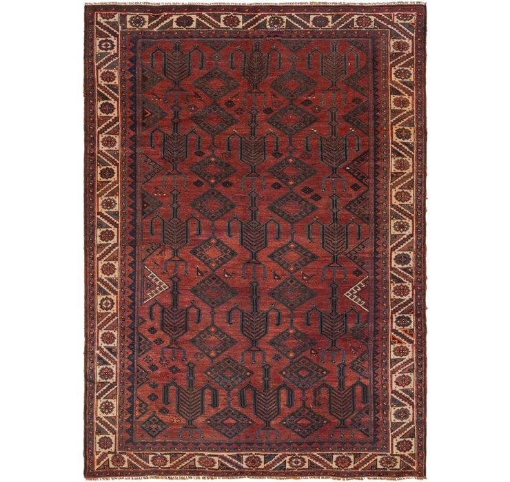 200cm x 282cm Shiraz-Lori Persian Rug