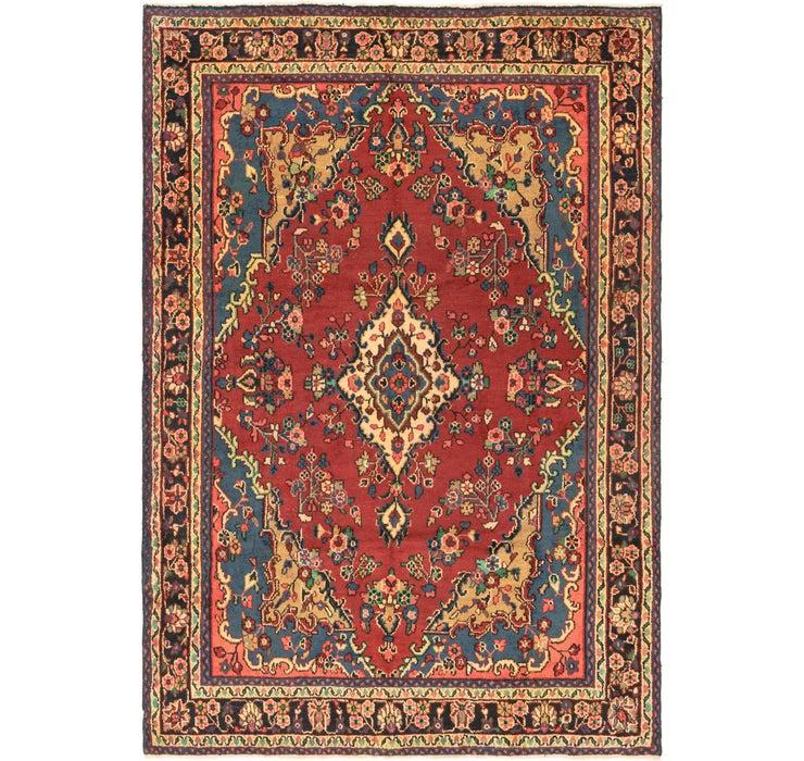 6' 8 x 9' 10 Hamedan Persian Rug