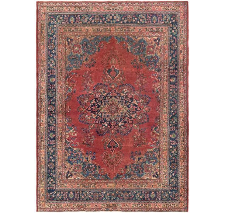 6' 9 x 9' 3 Mashad Persian Rug