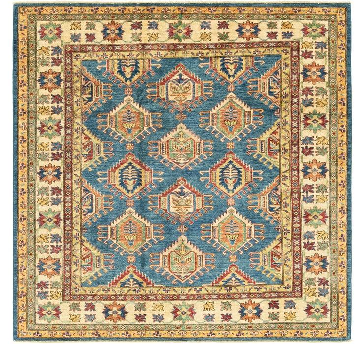 6' 1 x 6' 2 Kazak Oriental Square Rug