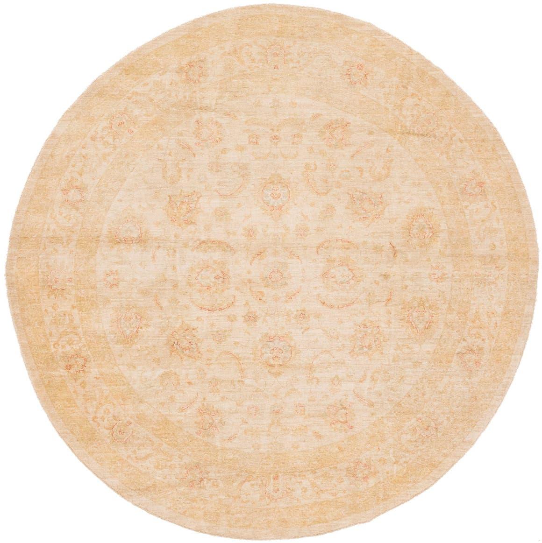 11' 3 x 11' 5 Peshawar Ziegler Round Rug main image
