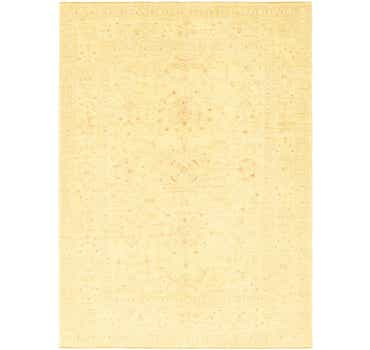 Image of 6' 10 x 9' 7 Over-Dyed Ziegler Rug