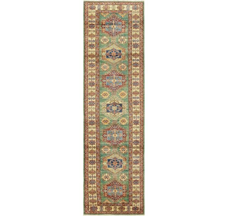 2' 7 x 9' 8 Kazak Oriental Runner Rug