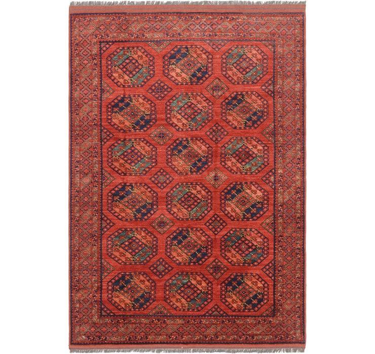 6' 11 x 10' 4 Afghan Ersari Rug