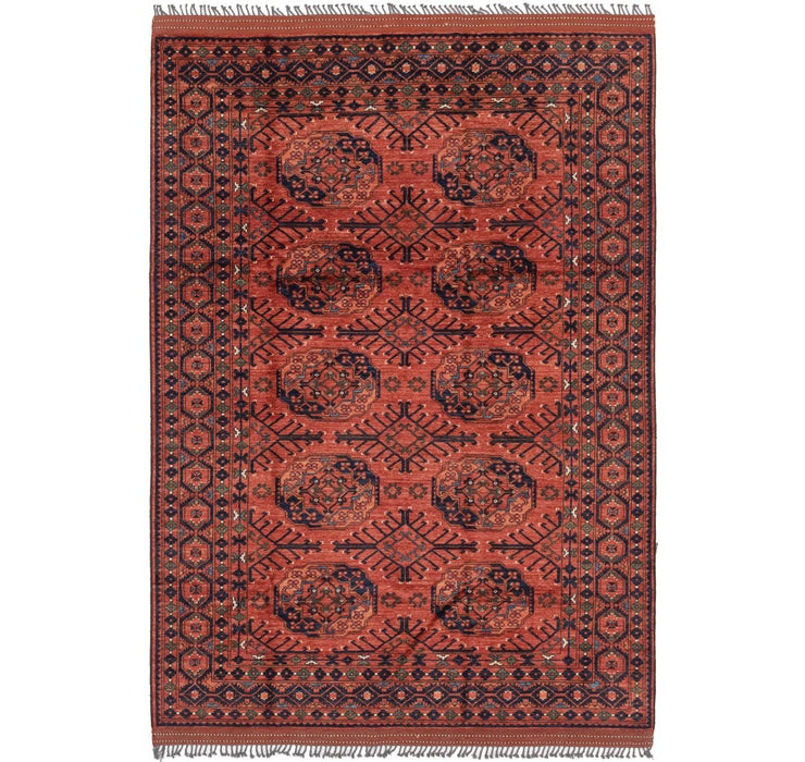 7' 1 x 10' 1 Afghan Ersari Rug