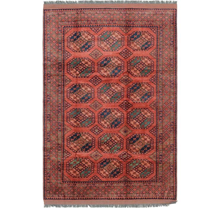 208cm x 318cm Afghan Ersari Rug
