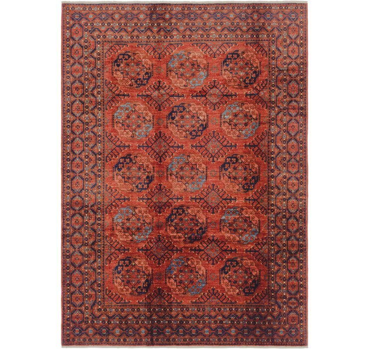 6' 11 x 9' 7 Afghan Ersari Rug