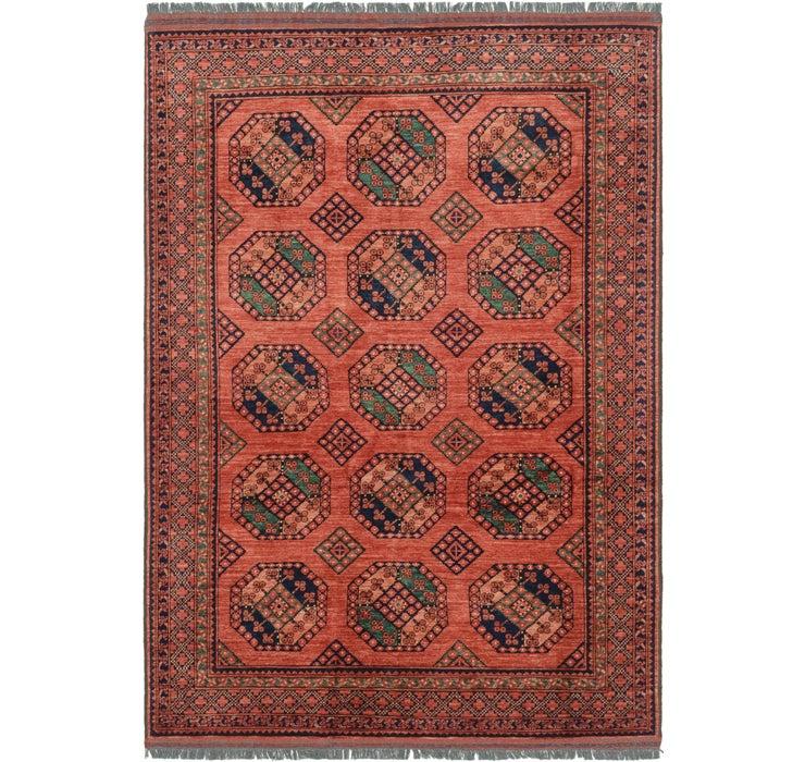 198cm x 282cm Afghan Ersari Rug