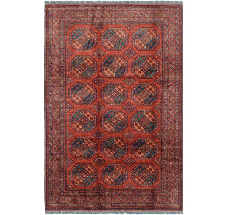 203cm x 305cm Afghan Ersari Rug